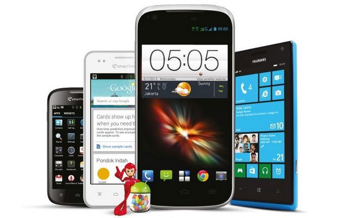 Daftar Harga Smartphone Smartfren Andromax Series Desember 2013