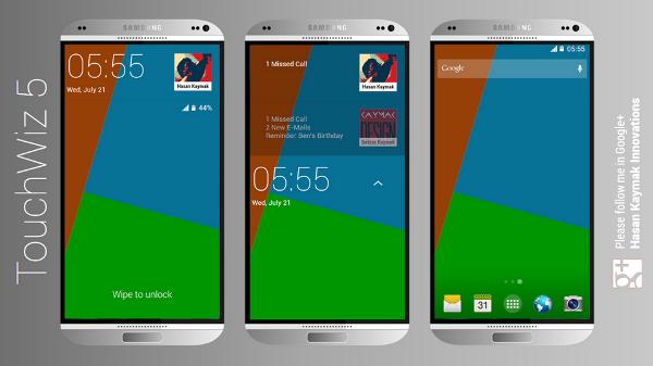 Inilah Konsep Samsung Galaxy S5 Dengan Tampilan Gahar 2