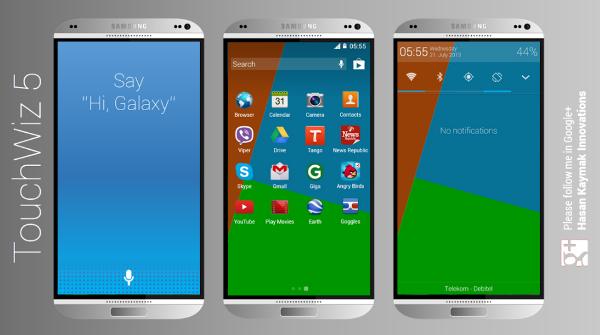 Inilah Konsep Samsung Galaxy S5 Dengan Tampilan Gahar
