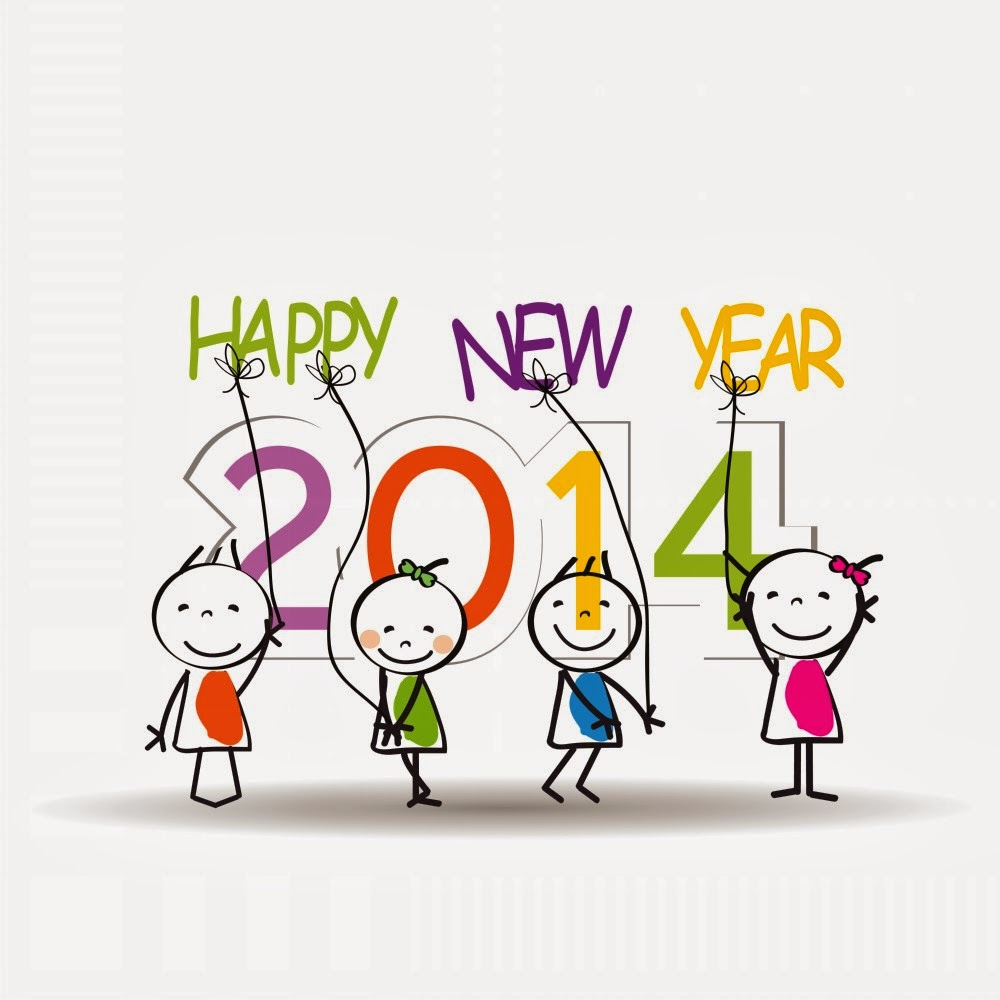Kartu Ucapan Selamat Tahun Baru 2014