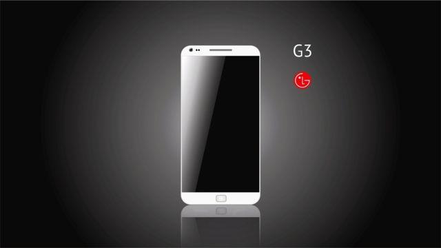 LG G3 Ilustrasi