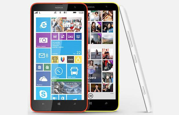 Nokia Lumia 1320 Resmi Diluncurkan Hari Ini di China