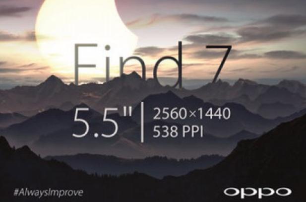 Oppo Find 7 Dikonfirmasi Gunakan Ukuran Layar 5,5 Inci