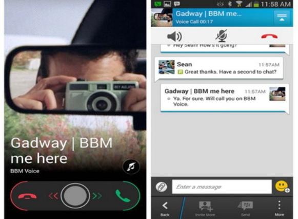 BBM Voice and Video Calling untuk iOS dan Android akan Hadir 2014