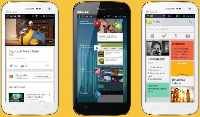 BLU Studio 5.0 II, Smartphone Android 5MP Harga Rp 1,6 Jutaan