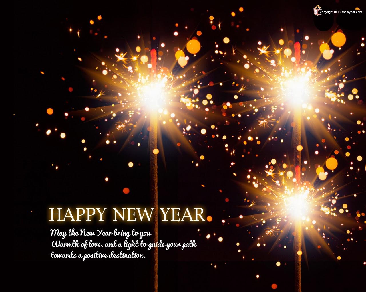 gambar ucapan tahun baru 2014 keren