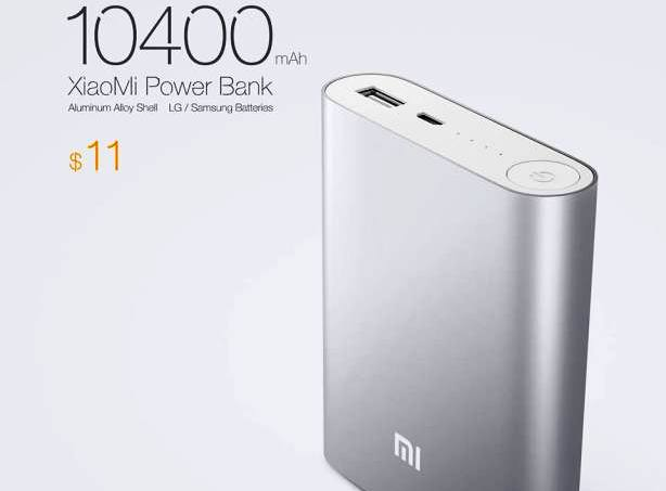 Harga Power Bank Xiaomi 10.400 mAh Dibandrol Rp 130 Ribuan
