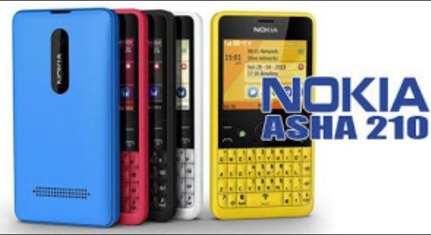 Harga Nokia Asha 210 Dual-SIM Januari 2014 Masih Stabil