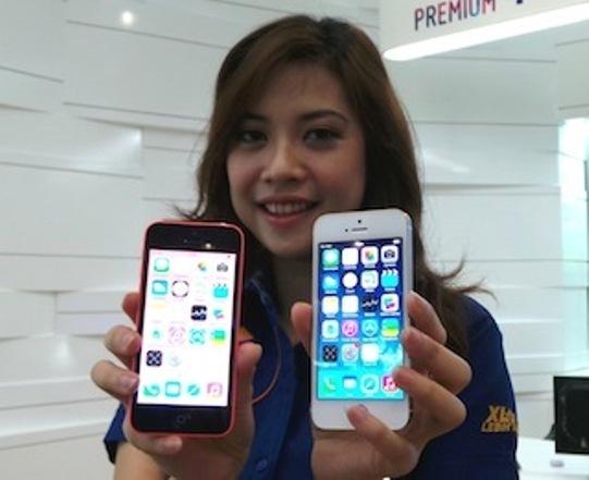 Harga iphone 5S dan 5C XL