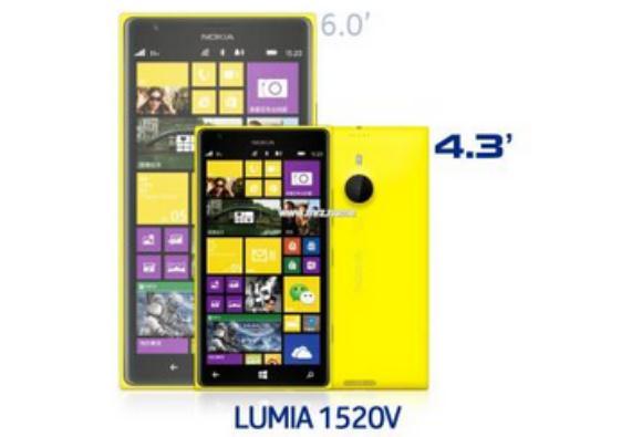 Nokia Lumia 1520 Mini Akan Hadir dengan Layar 4,3 Inci