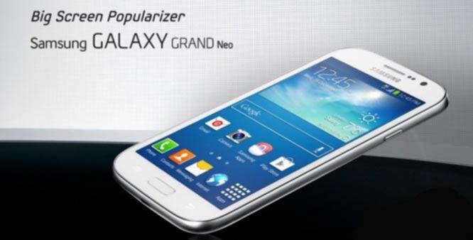 Samsung Galaxy Grand Neo Resmi Dirilis, Harga 4 Jutaan