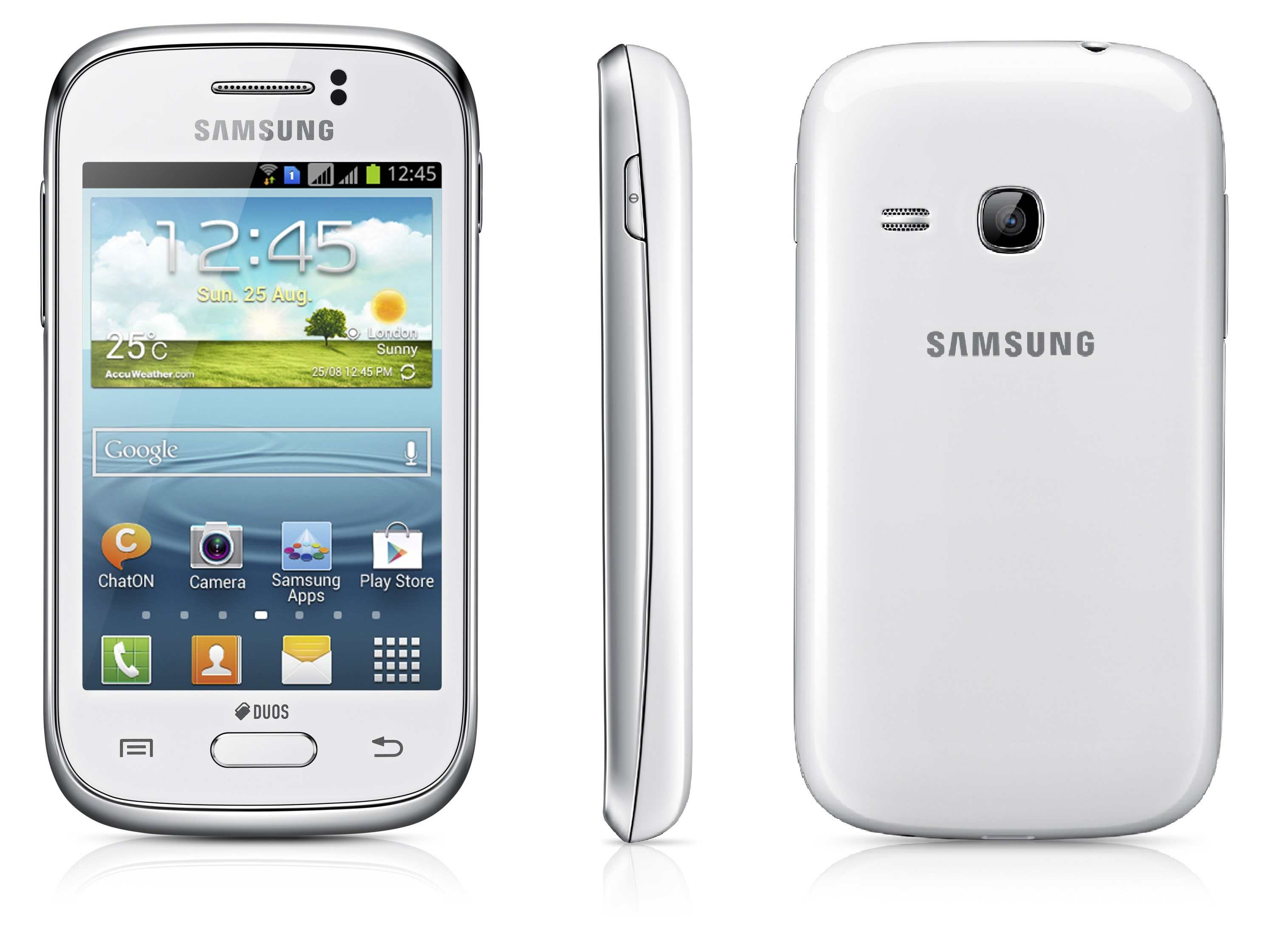 Smartphone And Tablet Samsung Galaxy Young New S6310 4gb Putih Ponsel Android Murah Cuma Rp 12 Jutaan