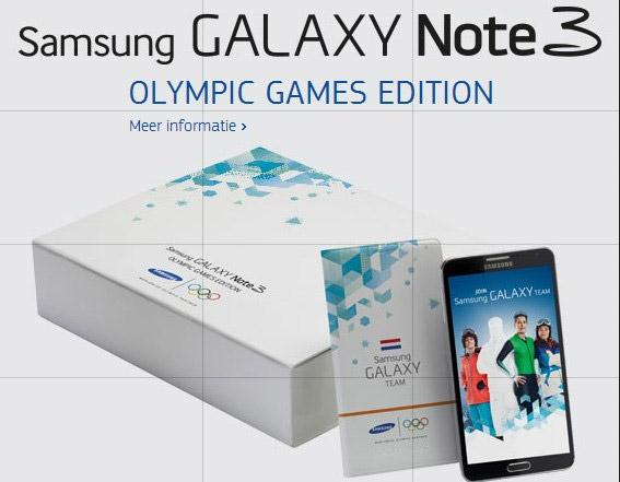 Samsung Rilis Galaxy Note 3 Olympic Games Edition