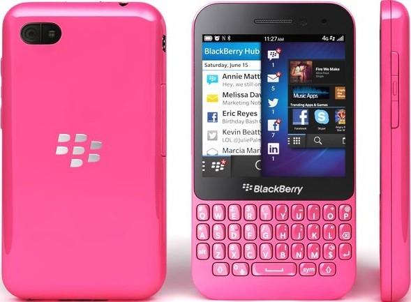 BlackBerry Q5 Pink Hadir di Dubai, Harga Rp 4,9 Jutaan