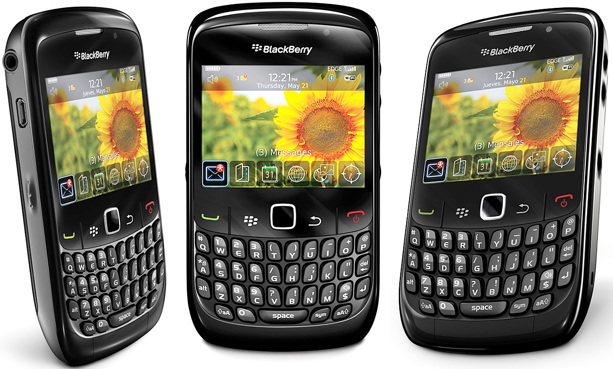 Wallpaper Hp Blackberry Gemini 8520