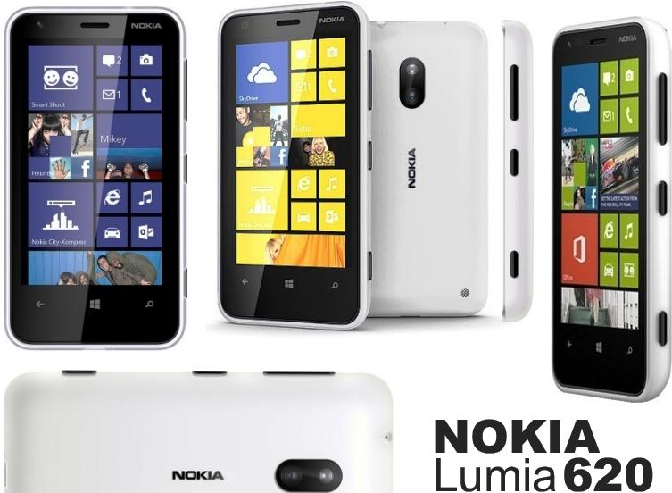 Harga Nokia Lumia 620 Terbaru Akhir Januari 2014