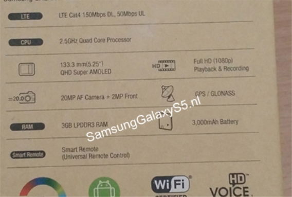 Dus Box Samsung Galaxy S5