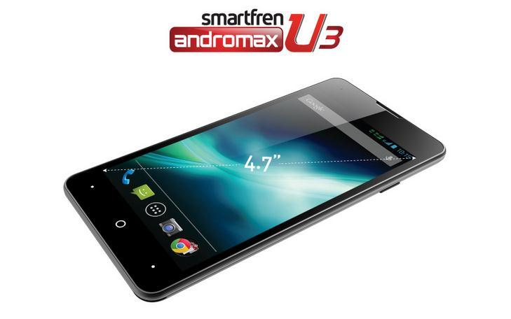 Harga Smartfren Andromax U3 Terbaru Februari 2014