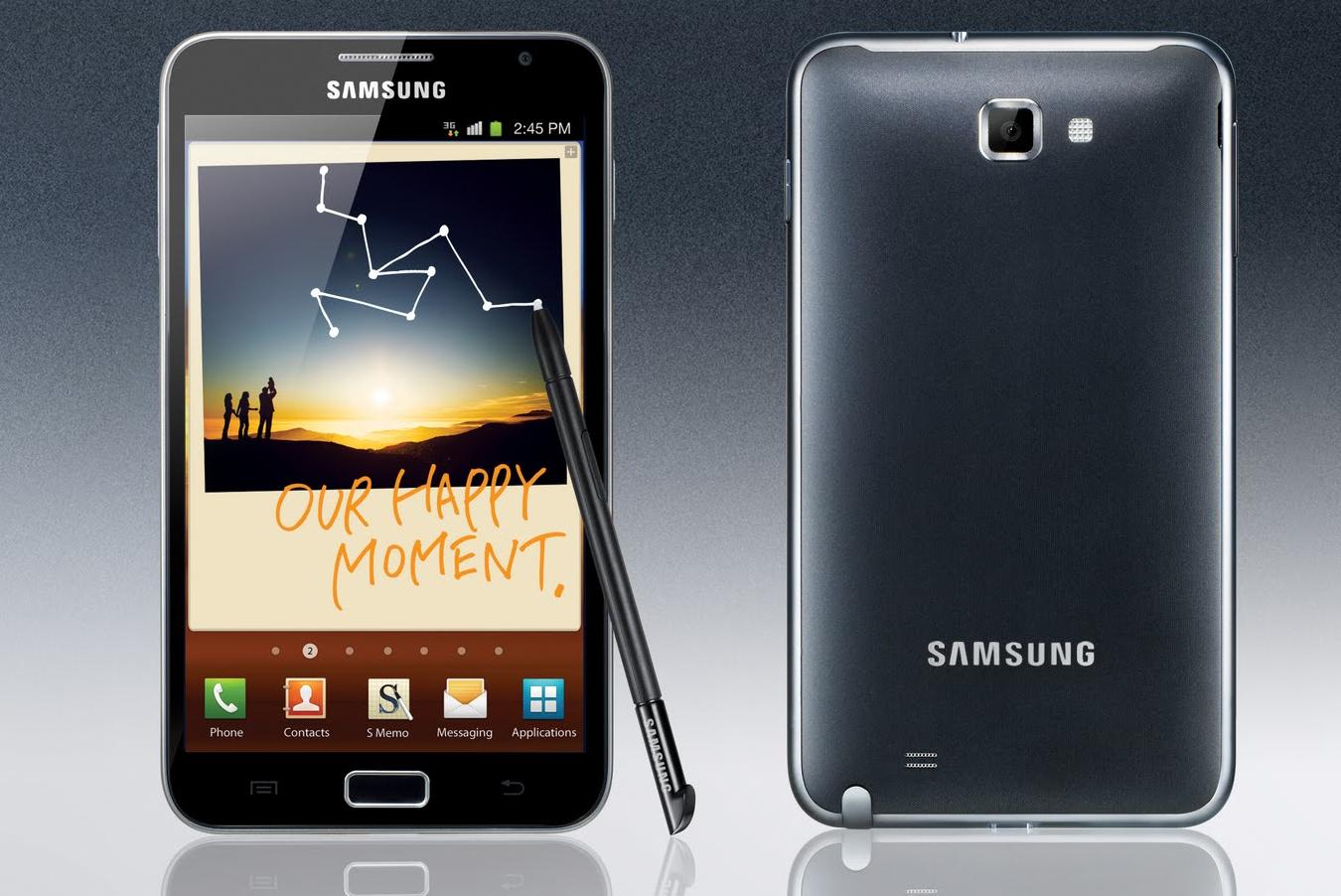 Samsung Gunakan Layar Lengkung Untuk Samsung Galaxy Note 4