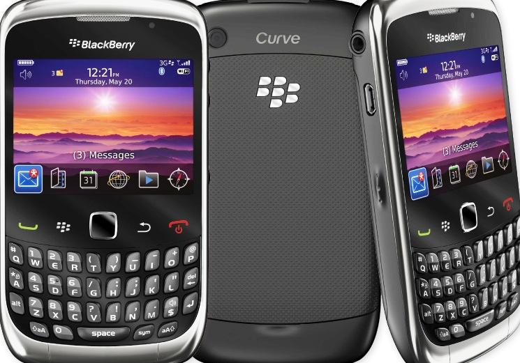 Harga BlackBerry Curve 3G 9300 Terbaru Bulan Februari 2014