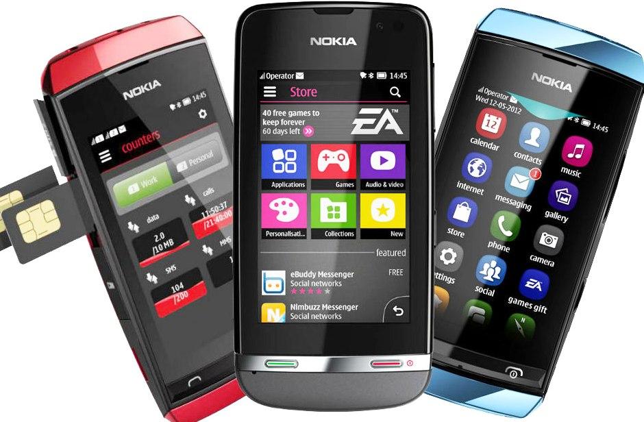 Harga Nokia Asha 305 Terbaru Bulan Februari 2014