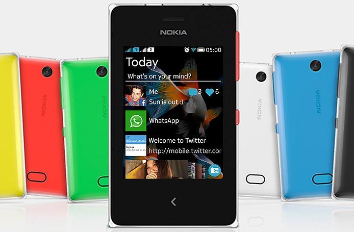 Harga Nokia Asha 500 Dual SIM Terbaru Bulan Februari 2014