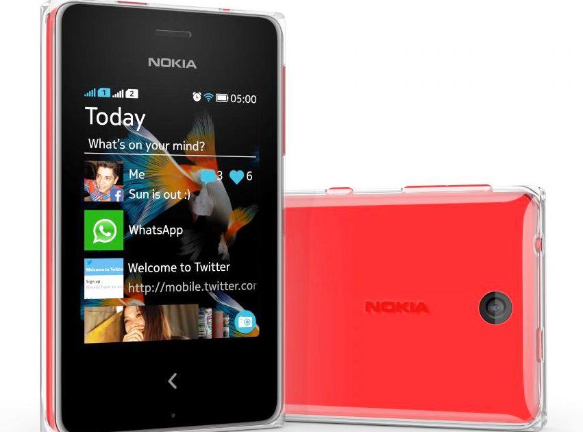 Harga Nokia Asha 500 Terbaru Bulan Februari 2014
