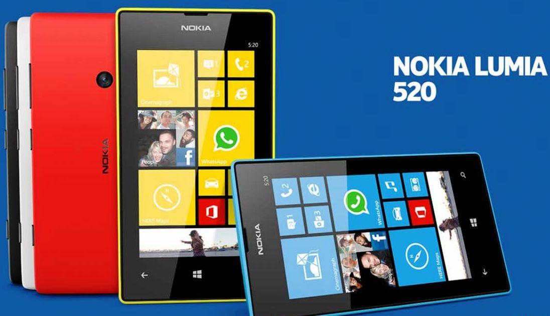 Harga Nokia Lumia 520 Terbaru Bulan Februari 2014