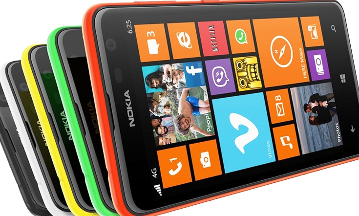 Harga Nokia Lumia 625 Terbaru Bulan Februari 2014