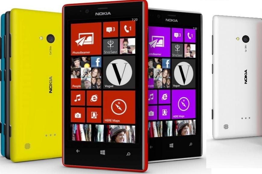 Harga Nokia Lumia 720 Terbaru Bulan Februari 2014