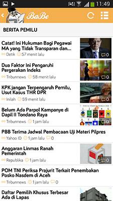 Baca Berita Pemilu 2014 3