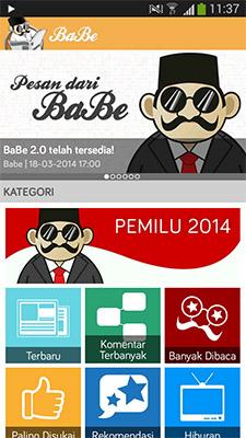 Baca Berita Pemilu 2014