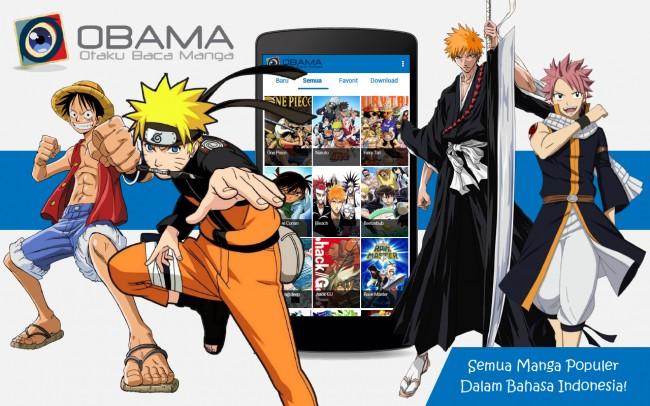 OBAMA (Otaku Baca Manga), Aplikasi Android Baca Manga