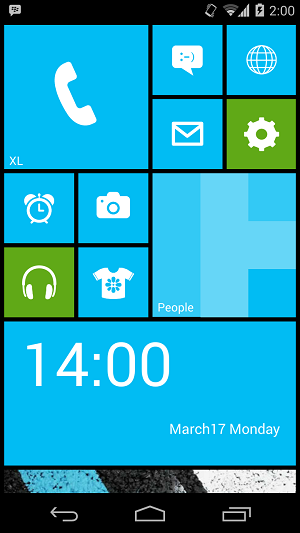 Windows Phone 8 di Android
