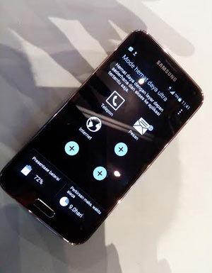 Wow, Samsung Galaxy S5 Ada Fitur Untuk Dibuat Jadul