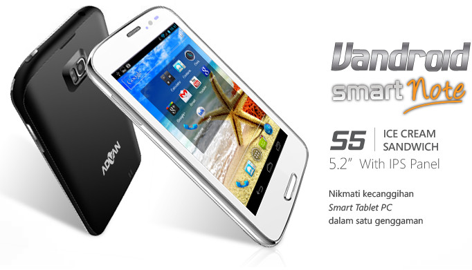 Harga Advan Vandroid S5 Akhir April 2014