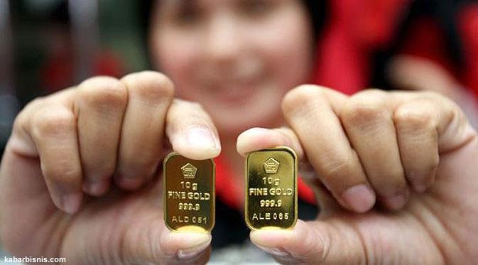 Harga Emas Antam Hari Ini 7 April 2014 Menguat