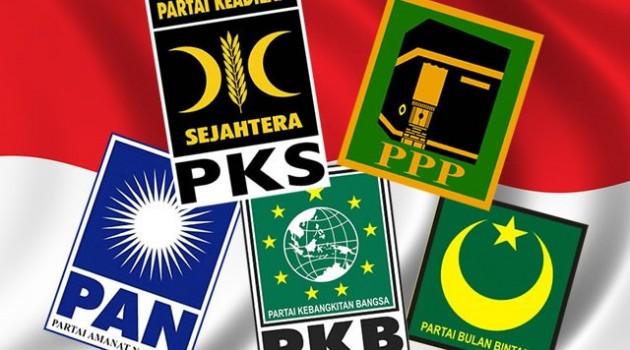 Hasil Quick Count Pemilu Legislatif 2014 Partai Islam Catat Hasil Positif