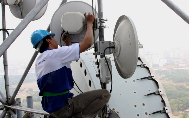 Inilah Penyebab Tumbangnya Jaringan Indosat