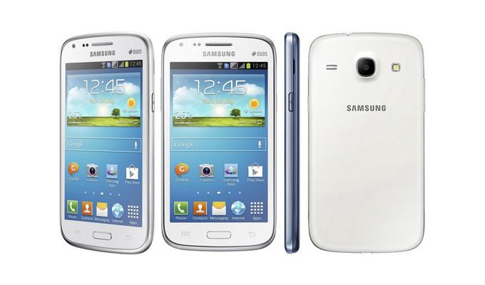 Samsung Galaxy Core, Model Mirip Galaxy S4 Harga Lebih Murah