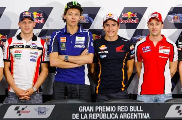 MotoGP Argentina 2014: Jadwal Latihan Bebas, Kualifikasi dan Race