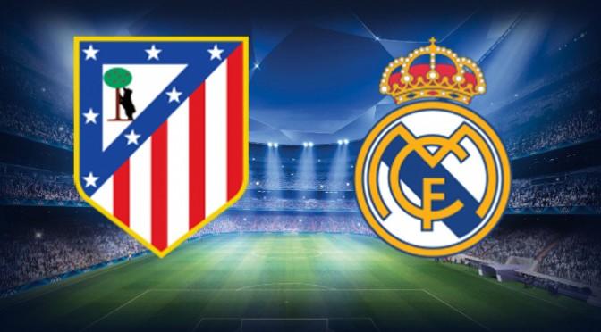 Final Liga Champions Real Madrid vs Atletico Madrid