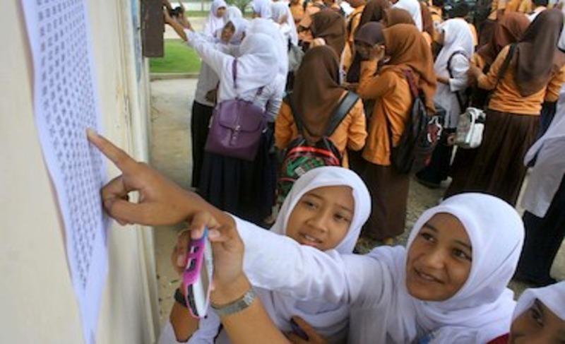 Pengumuman UN SMA 2014