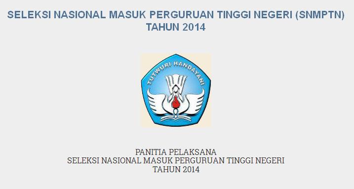 Alamat Website Pengumuman SNMPTN 2014 di www.snmptn.ac.id
