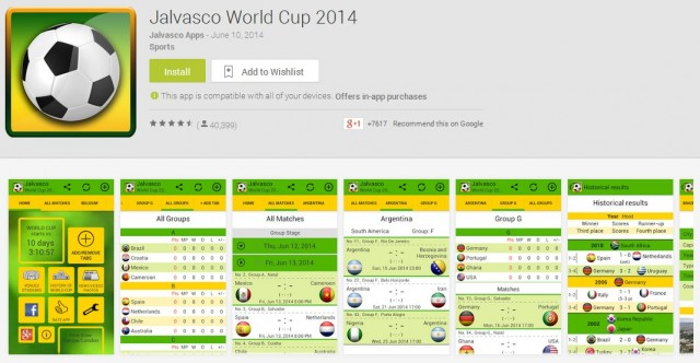 Jalvasco World Cup 2014