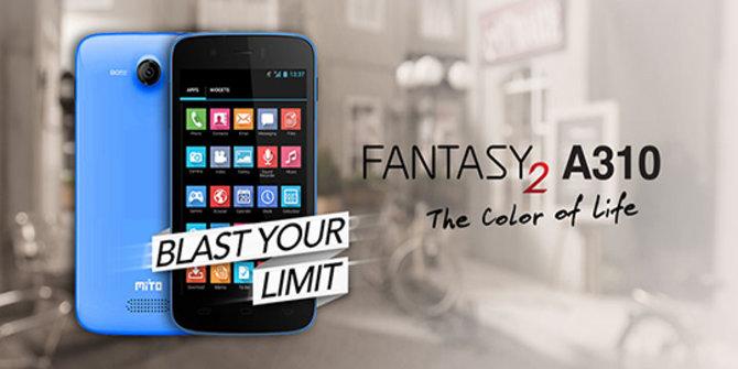 Mito Fantasy 2 A310, Smartphone Quad Core Harga 900 Ribuan