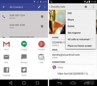 Perbedaan Android L dan Android KitKat