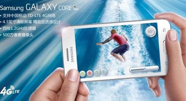 Samsung Galaxy Core Mini 4G Resmi Meluncur di China