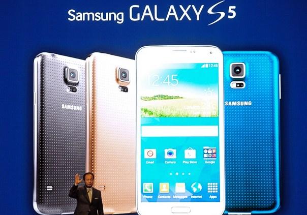 Samsung Galaxy S5 Sukses Kalahkan LG G3