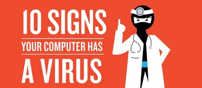 Tanda Komputer Terinfeksi Virus